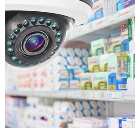Монтаж систем контроля доступа (СКУД) для аптеки
