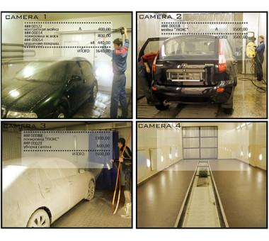 Cистема контроля доступа (СКУД) для автомойки