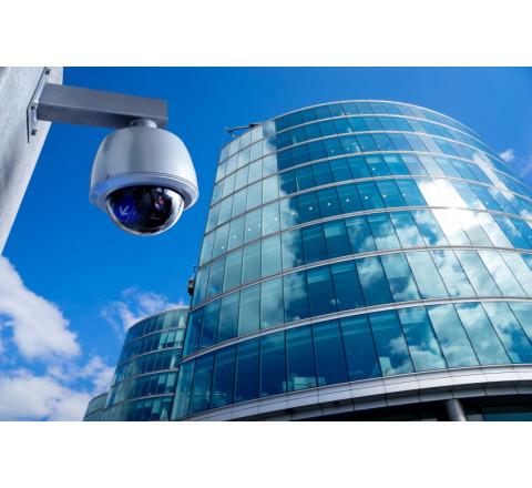 Монтаж систем видеонаблюдения для бизнес-центра