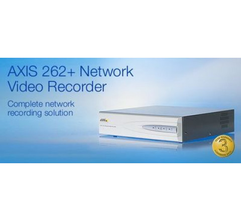 AXIS 262+ NVR and 4pc AXIS 207