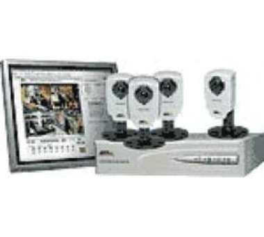 AXIS 262+ NVR and 4pc AXIS 210