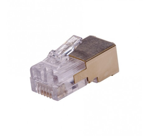 RJ12 PLUG SHIELDED 10 PCS